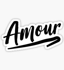 Amour Sticker