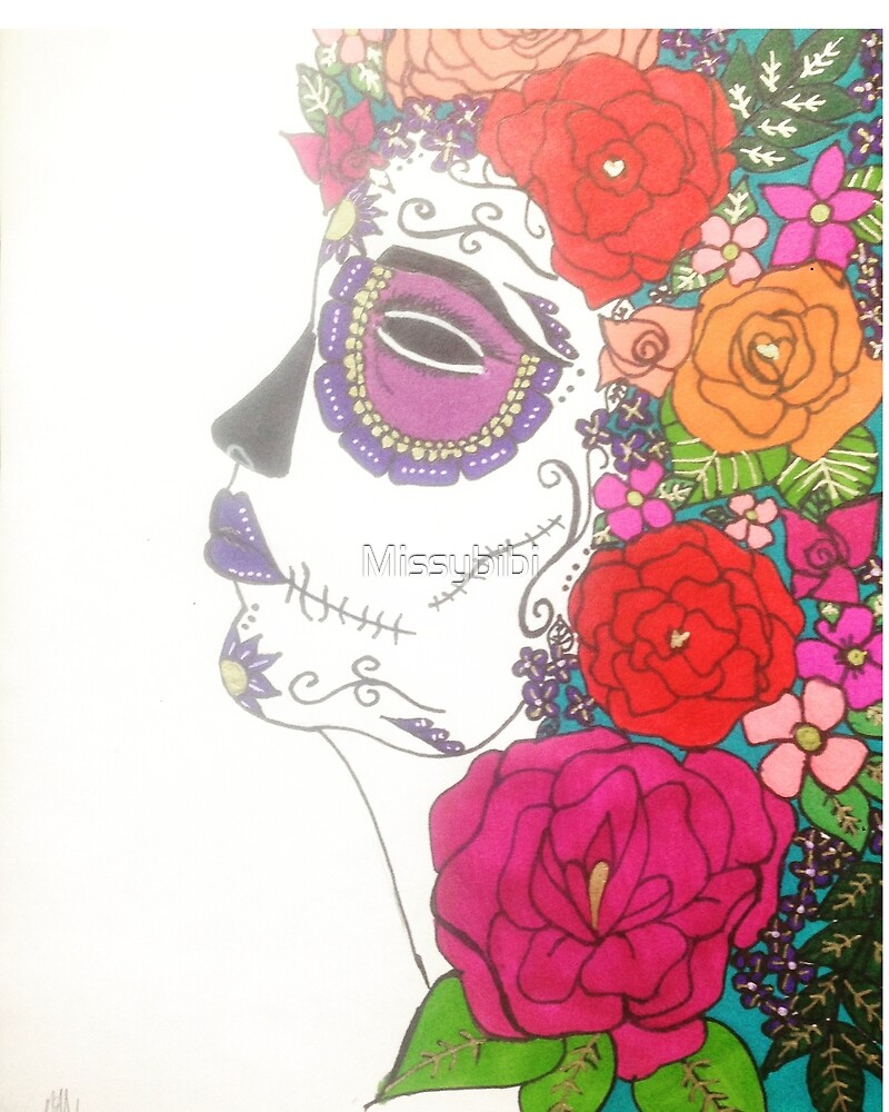 Day Of The Dead. Sugar Skull by Missybibi