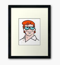 Dexter Mashup Framed Print