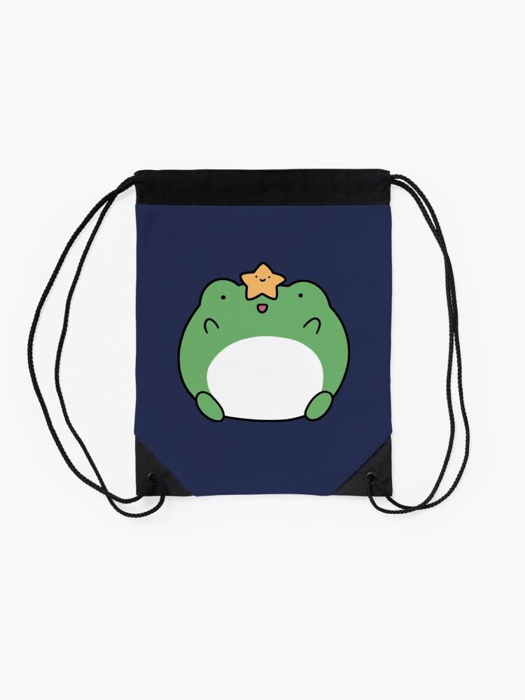 Alternate view of Star Frog Drawstring Bag