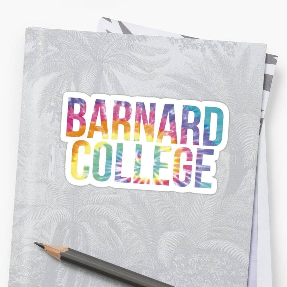 Barnard College Tie Dye by PWRCT