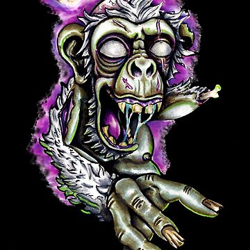 Zombo Chimp by nicpfeiff