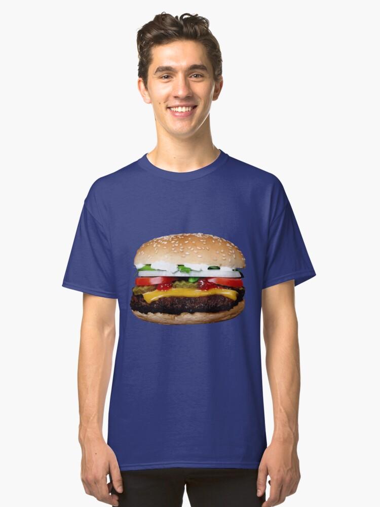 BIG BURGER 3 Classic T-Shirt Front