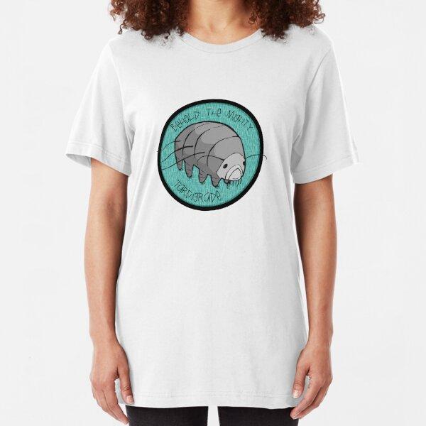 The Mighty Tardigrade Slim Fit T-Shirt