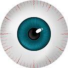 Eyeball Clock by Susan Robinson