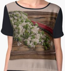 Rice & Peas Women's Chiffon Top
