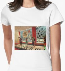 The Big Piano, FAO Schwarz Toy Store, New York City Women's Fitted T-Shirt