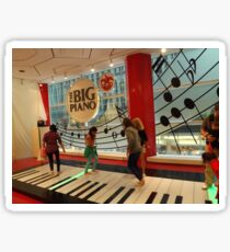 The Big Piano, FAO Schwarz Toy Store, New York City Sticker