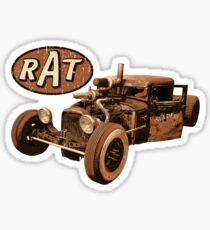 RAT - Welder Up Sticker