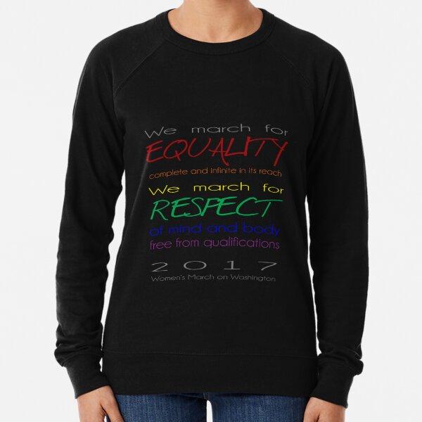 Women's March on Washington Lightweight Sweatshirt