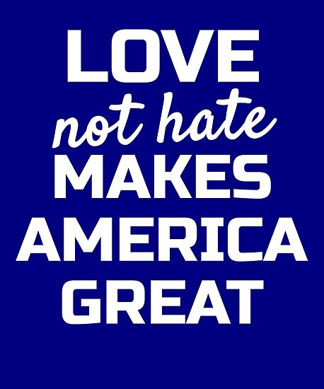 Womens March on Washington; Love not Hate Makes America Great by EstelleStar