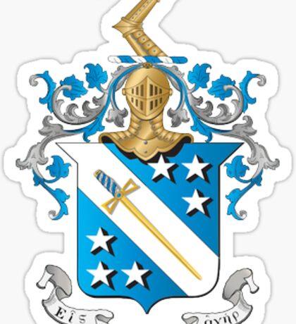 Phi Delta Theta Crest Sticker