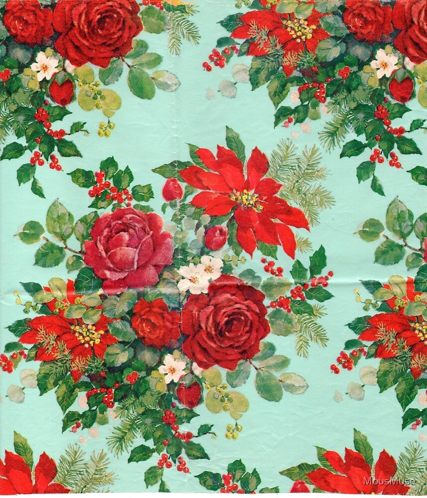Red Floral by MousMuse
