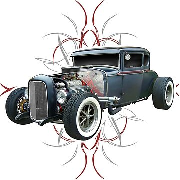 Pinstripe Hot Rod by hotrodz