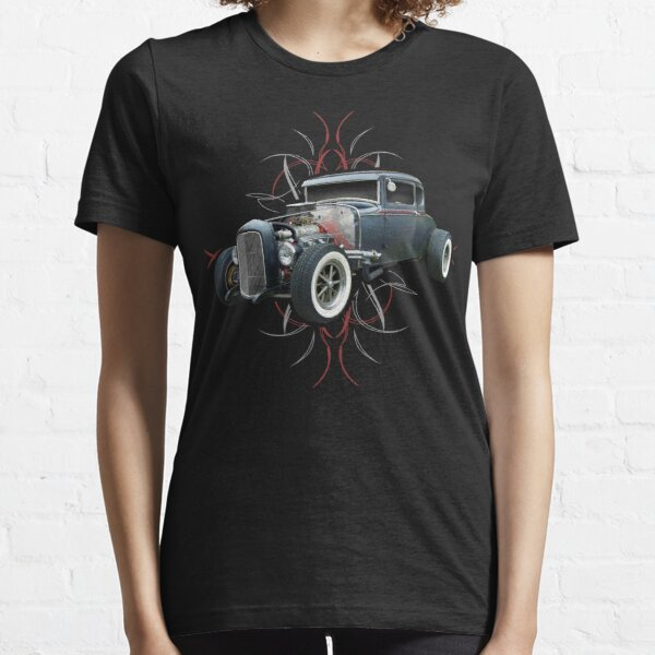 Nadelstreifen Hot Rod Essential T-Shirt