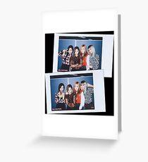 BlackPink Polaroids! Greeting Card