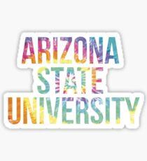 Arizona State University Tie Dye Sticker