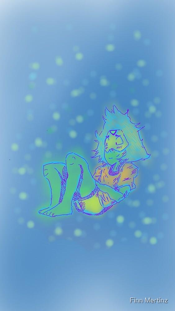 Steven Universe NEON PERIDOT! by Finn Mertinz
