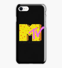 retro MTV iPhone Case/Skin