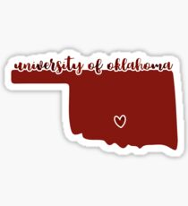 University of Oklahoma - Style 16 Sticker