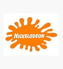 Nickelodeon logo Photographic Print