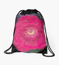 Fuscia in its finest Drawstring Bag