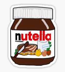 Nutella Jar  Sticker
