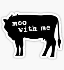 Rent - Moo With Me Sticker