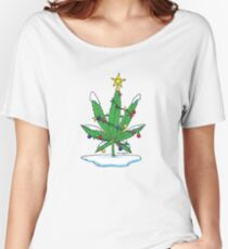 Alternative Holiday Tree Tee Women's Relaxed Fit T-Shirt