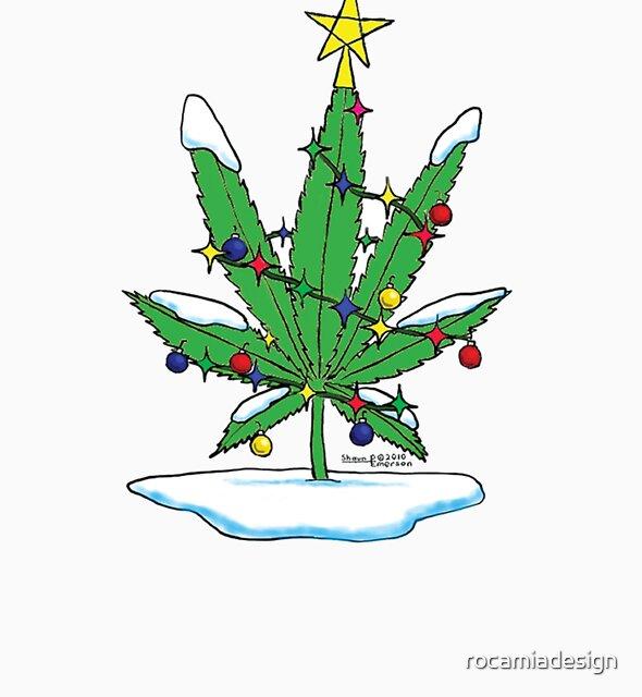 Alternative Holiday Tree Tee by rocamiadesign