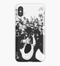 """Unique and rare 1980 Race Trucks France  24 (n&b) (t) """" fawn paint Picasso ! Olao-Olavia by Okaio Créations iPhone Case/Skin"""