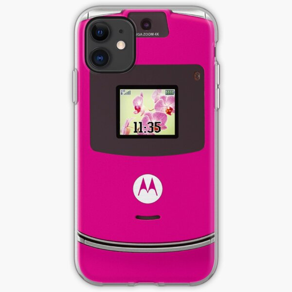 Motorola Razr: pink iPhone Soft Case