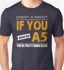 Audi A5 Unisex T-Shirt
