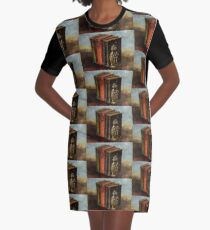 Portable Magic Graphic T-Shirt Dress