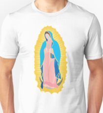 Virgen de Guadalupe / virgin / madona / our lady Slim Fit T-Shirt