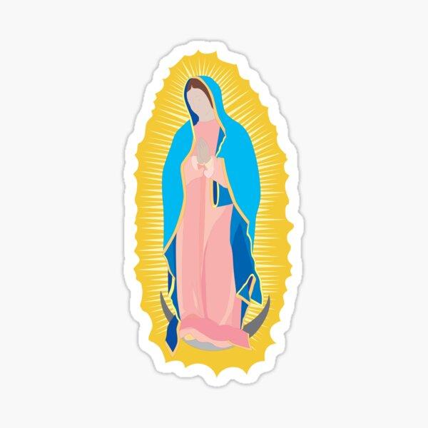 Virgen de Guadalupe / virgin / madona / our lady Pegatina