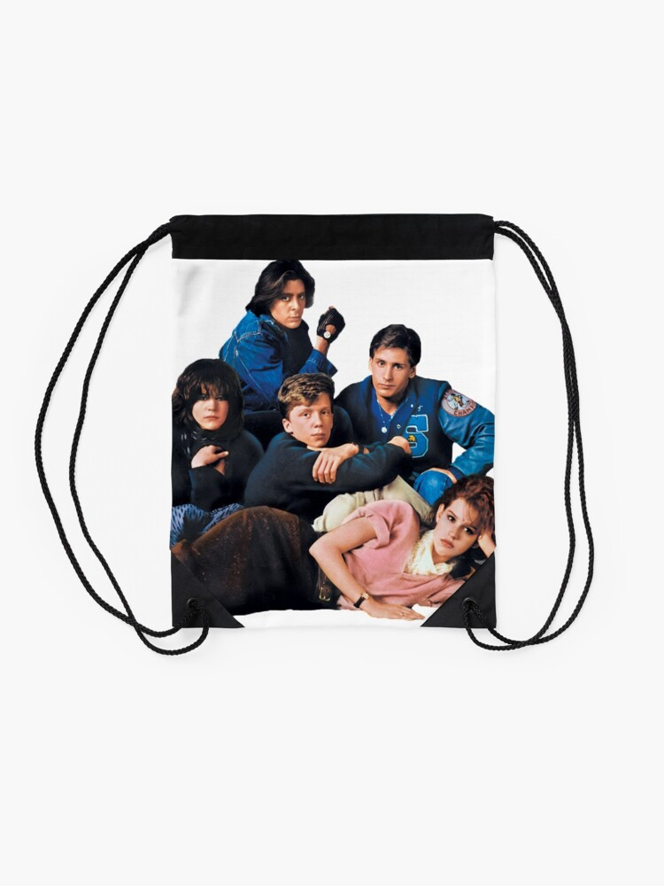 Alternate view of The Breakfast Club  Drawstring Bag