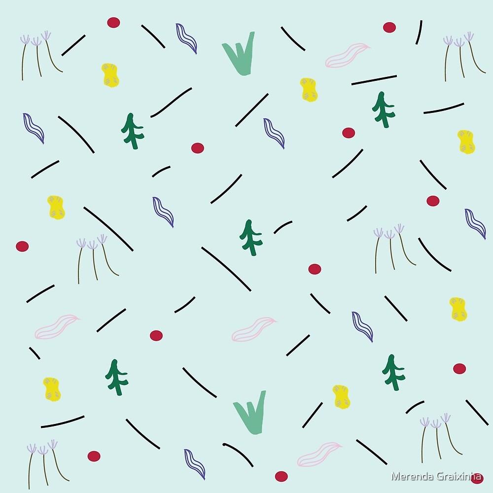 Planter Pattern  by Merenda Graixinha