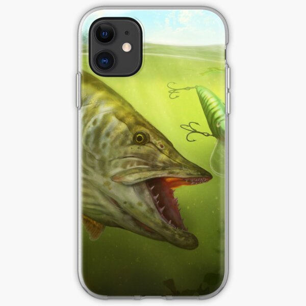 Tiger Musky iPhone Soft Case