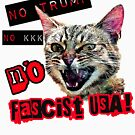 No Fascist USA Cat by Thelittlelord