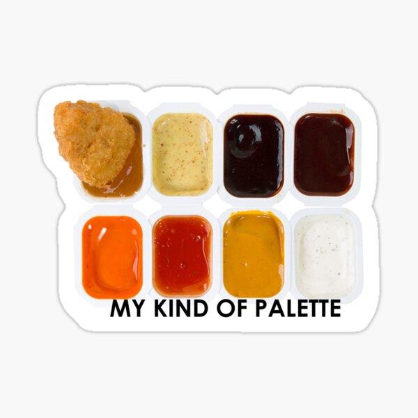 Chicken Nugget Palette Sticker
