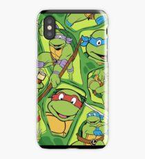 Teenage Mutant Ninja Turtles Cartoon iPhone Case/Skin