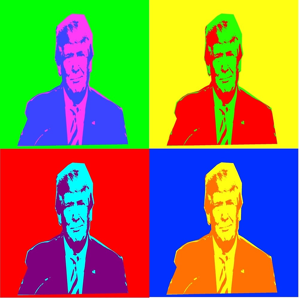 Trump Pop Art by overwithdrawn