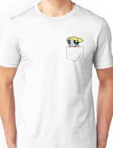 Powerpuff Girls Bubbles Pocket Unisex T-Shirt