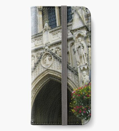 Truro Cathedral - Front Aspect iPhone Flip-Case