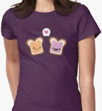PB & J Liebe Tailliertes T-Shirt für Frauen