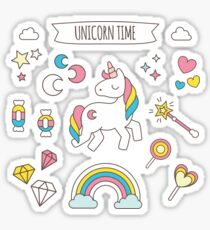 Unicorn Time Sticker