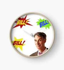 Bill Nye, the Science Guy Clock