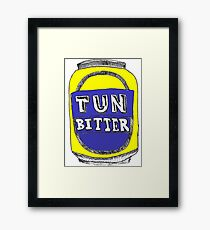 Tun Bitter (Yellow) Framed Print