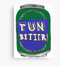 Tun Bitter (Green) Canvas Print